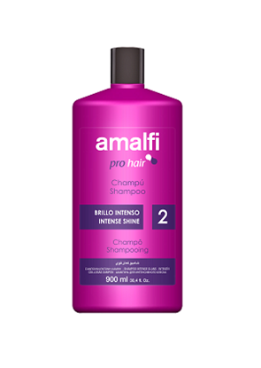 Picture of Professional shampoo for intense shine 900 ml. Amalfi