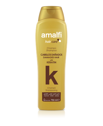 Picture of Keratin shampoo for colored damaged hair 750 ml. Amalfi