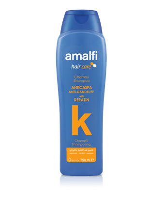 Picture of Keratin shampoo against dandruff 750 ml. Amalfi