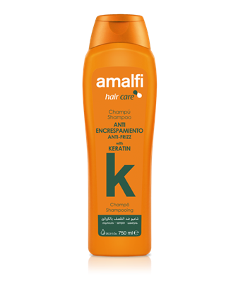 Picture of Keratin shampoo for curly hair 750 ml. Amalfi