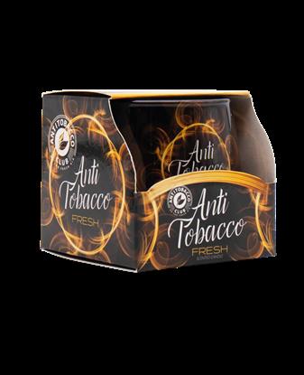 სურათი სურნელოვანი სანთელი ანტი-თამბაქო მინის თასში 100 გრ